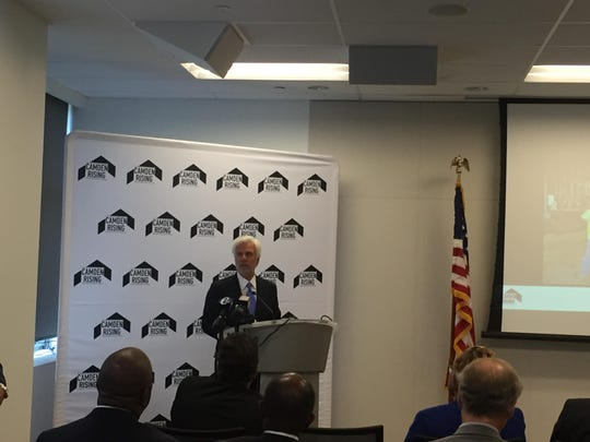 Cooper University Chairman George E. Norcross III talks about the Camden Construction Careers Initiative.