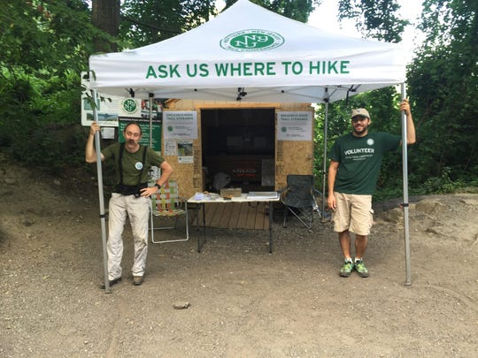 Trail Conference Stewards are available to help hiker at Breakneck Ridge, recognized as one of the most popular and difficult public transit-accessible day hikes in the country.