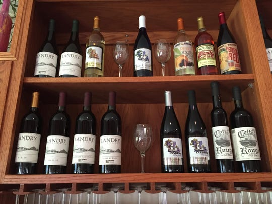 Landry Vineyards produces a range of red and white
