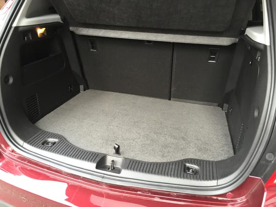 With rear-splitting seats, and a fold-down passenger seat, you can haul an item eight feet long.