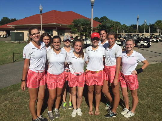 The Leon girls golf team advanced to the regional tournament with a third-place result at Tuesday's district tournament in Navarre.