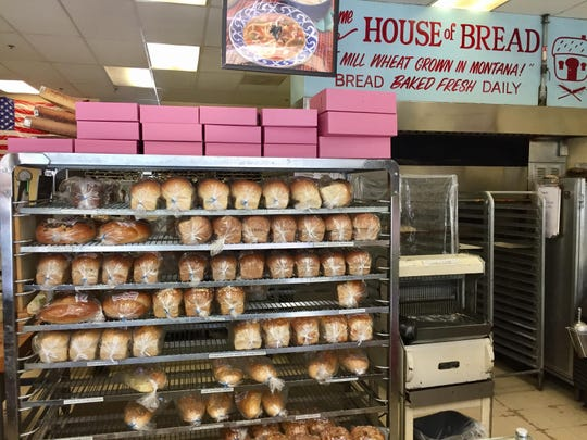 Loaves await good homes at House of Bread.