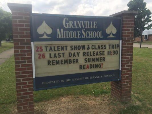 Granville middle school