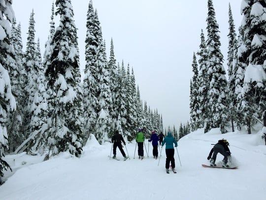 Whitefish Mountain Resort is at Big Mountain.