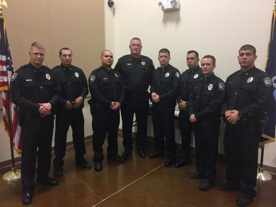 New Officers and Jailers Sworn 11-18-17