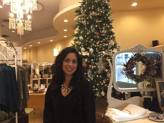 Mia Cruz owner of Bliss Boutique