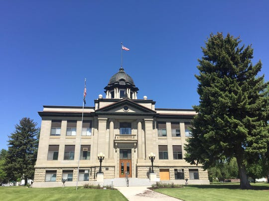 The Rosebud County Courthouse in Forsyth is among the