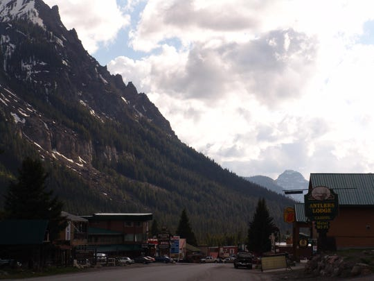 Cooke City is at Yellowstone National Park's northeast entrance