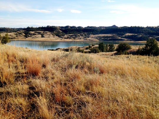 Hell Creek State Park is about 24 miles of gravel road