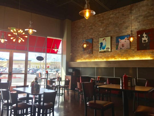 Burger Mesouth Diningroom