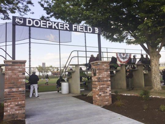 Golden West High School dedicated a new memorial entrance