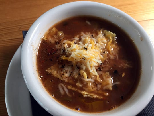 Chicken Tortilla Soup from Mo's River Road Grill