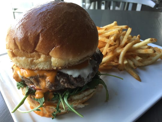 Lunch and dinner burgers at the Shore Room restaurant in the Renaissance Reno hotel feature housemade brioche buns.