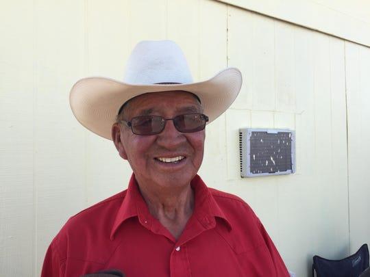 Joe Bird Rattler has been a fixture at Montana ExpoPark horse races for decades.