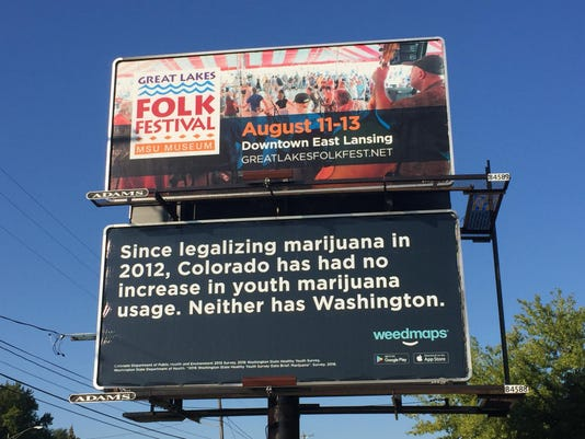 Lansing area billboard 1