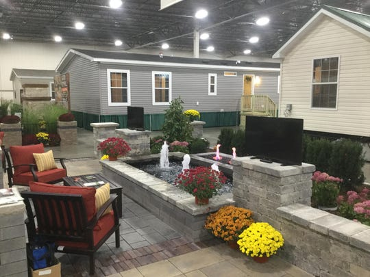 Manufactured homes on display at The Novi Home Show
