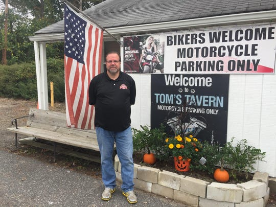 Rob Johnson, owner of Tom's Tavern in Farmingdale and Woody's Roadside Tavern, also in Farmingdale.