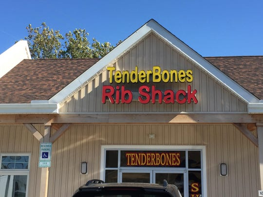 TenderBones Rib Shack at 2504 Red Lion Road in Bear, near Lums Pond, opened this past June. It's open every day but Monday.