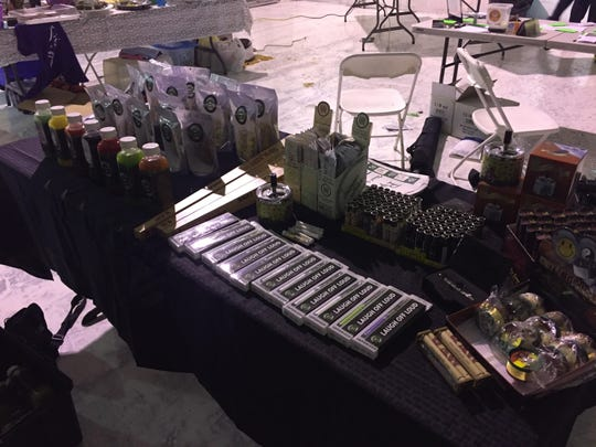 Five & Dime dispensary had several tables displaying brownies, cookies, bottled juices and candy all laced with tetrahydrocannabinol, or THC — the chemical compound in marijuana that causes a euphoric high, authorities say.