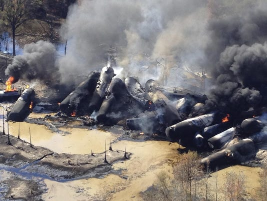 Oil Train Accidents