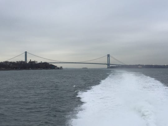 People can take in a variety of scenic and city views while aboard the Seastreak Ferry.