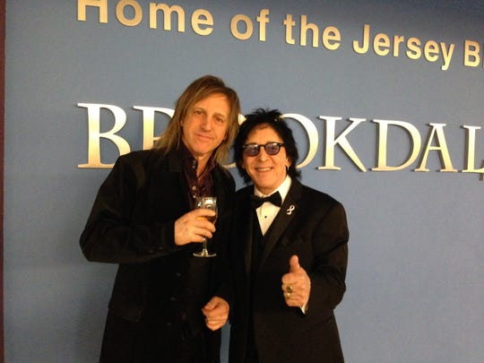 Celebrity photographer Mark Weiss and Peter Criss, a founding member of Kiss, at the Beauty Foundation for Cancer Care's 9th annual Beauty Ball, held Saturday, March 14 at the Robert Collins Arena on the campus of Brookdale Communuty College in Lincroft.
