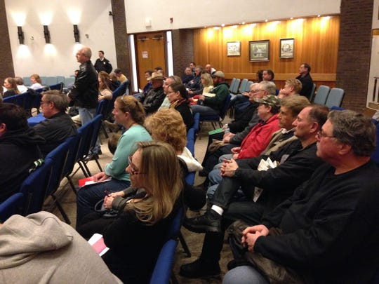 Jackson residents turned out at the March 24 Township Council meeting to voice their opposition to a proposed ordinance that would have rezoned a rural, residential area near Joint Base McGuire-Dix-Lakehurst for light industrial use.