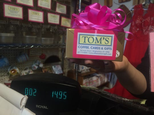 Tom's Coffee, Cards & Gifts is ready to reopen as part of New York's Phase 2.