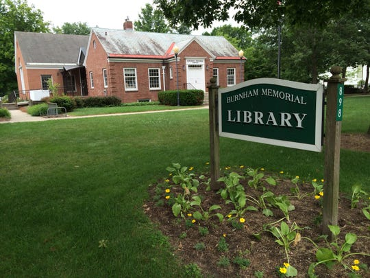 The Burnham Memorial Library in Colchester is seen on Tuesday, July 15.