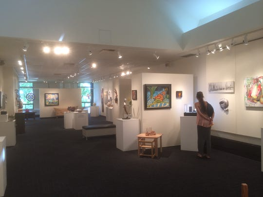 The gallery at the Centre d'Arts Visuels de Magog.