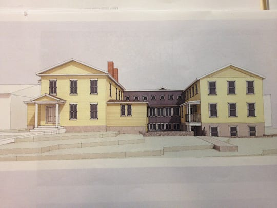 The proposed addition to 289 College St. in Burlington, with 12 new apartments, is pictured in documents submitted to the Planning and Zoning Department.