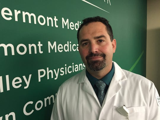 Dr. Eric Gauthier, medical director of invasive cardiology at Champlain Valley Physician's Hospital in Plattsburgh, said the affiliation with the University of Vermont Health Network gives his hospital new capabilities.