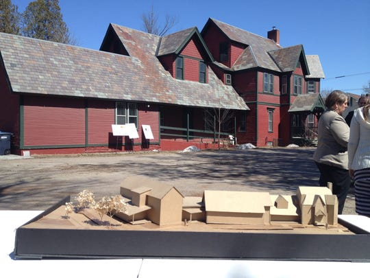 Waterbury began construction on an addition and renovation at the historic Henry Janes house on North Main Street on Monday. The new complex will contain town offices, the library, a community meeting room and the Waterbury Historical Society.