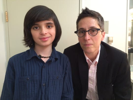 Oscar Williams of Charlotte and Alison Bechdel of Bolton
