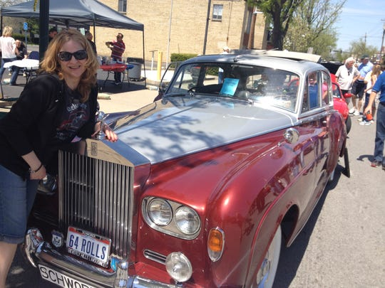 Jamie Schworer's 1964 Rolls Royce Silver Cloud has been featured in movies and has chauffered celebrities for decades.