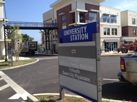 The $54 million first phase of development at University Station included the construction of apartments, office and retail space.