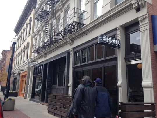 AFTER: Senate restaurant is one of the tenants in the