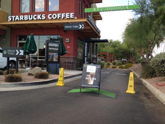 Starbucks Outage