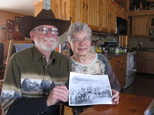 Corky, Judy with photoof Bill, Freckles.jpg