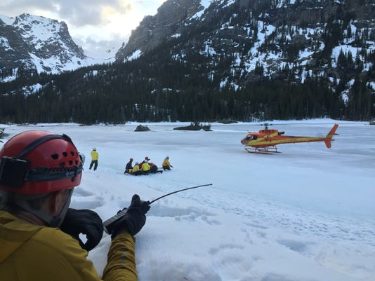 Photo Three - Rescue Incident On Thatchtop Above Loch in RMNP March 31.jpg -.jpg