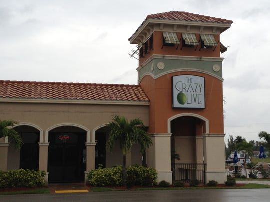 The Crazy Olive, which opened off of Pine Island Road in Cape Coral in January, closed last week.