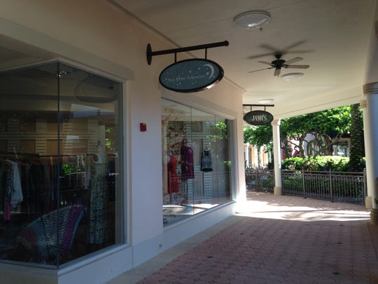 Clothing designer Tiffany Buntzman selected The Promenade to locate her To The Moon boutique.