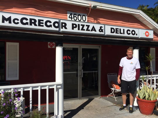 Joel Moroney opened McGregor Pizza & Deli Co. on Oct.