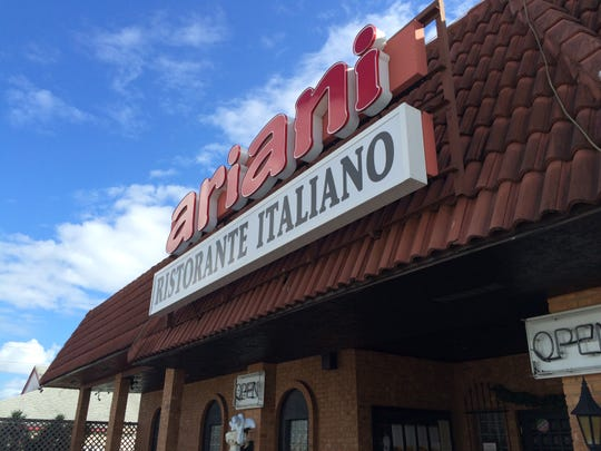 Ariani opened in 1989. The restaurant faces the T.J.Maxx parking lot in Cape Coral.