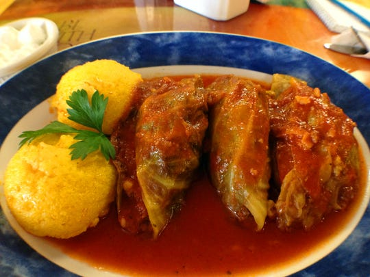 Stuffed cabbage from Dani's Daytime Diner on Fowler Street in Fort Myers.