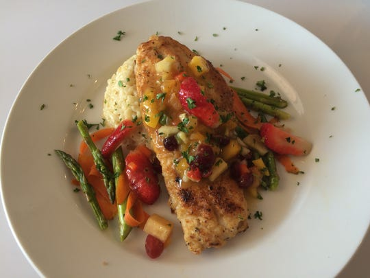 The Tropical Grouper sells for $16 at Blue Seafood.