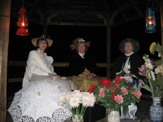 Volunteers portray Koreshan sect members during the Ghost Walks at Koreshan State Historic Site. This year's walks kick off Jan. 29 for two weekends.