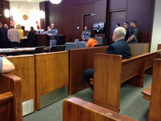 Mesac Damas was in court again Friday, January 30. A plea change hearing is now set for March