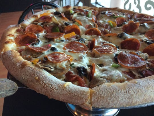 The House Specialty Pizza from Pizza 2000, a reader favorite in south Fort Myers.