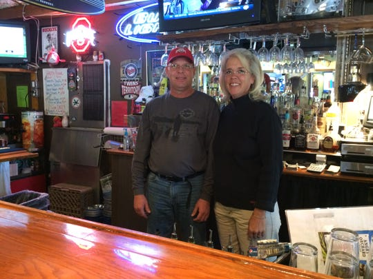 John and Robyn Schuckert own Bayside Grille.